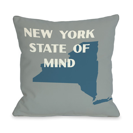 New York State of Mind // Pillow (16L x 16W)