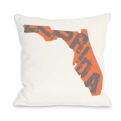 Florida State Type // Pillow