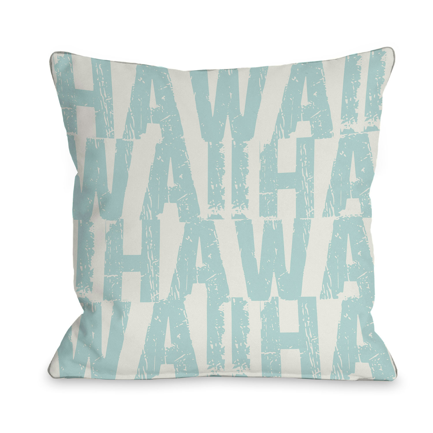 Hawaii State Type Pillow One Bella Casa Touch Of Modern