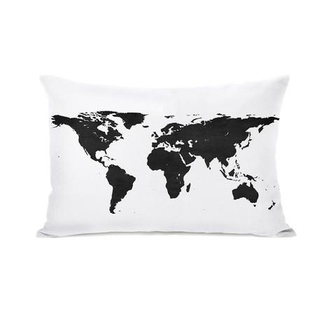 Classic Map // Pillow