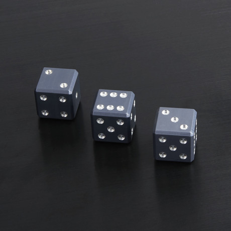 Bullet Case + Black Dice