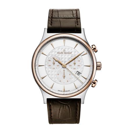 Claude Bernard Classic Chronograph Quartz // 10217 357R AIR
