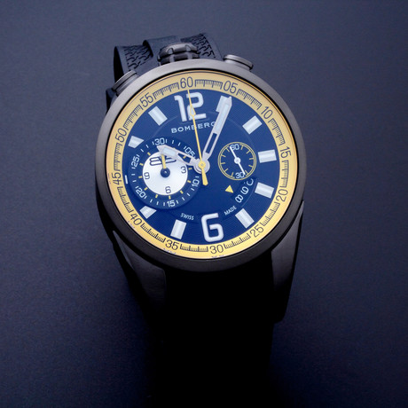 Bomberg Chronograph Quartz // NS44CHPGM.0083 // Unworn
