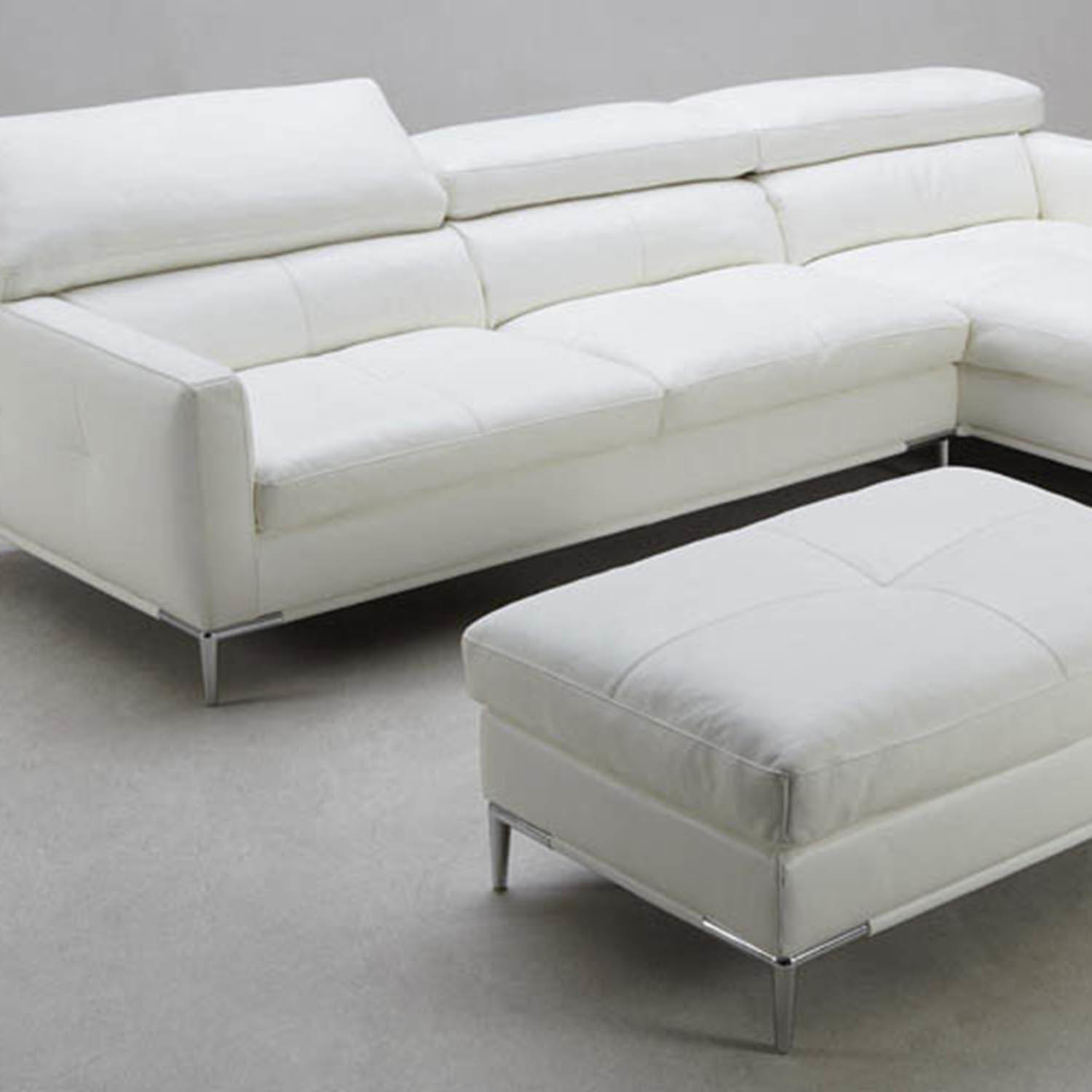 Eden sectional sofa right chaise ottoman zuri for Chaise furniture sale