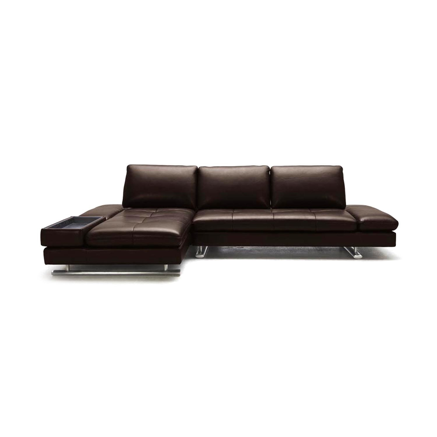 Ritz sectional sofa left chaise zuri furniture for Chaise furniture sale