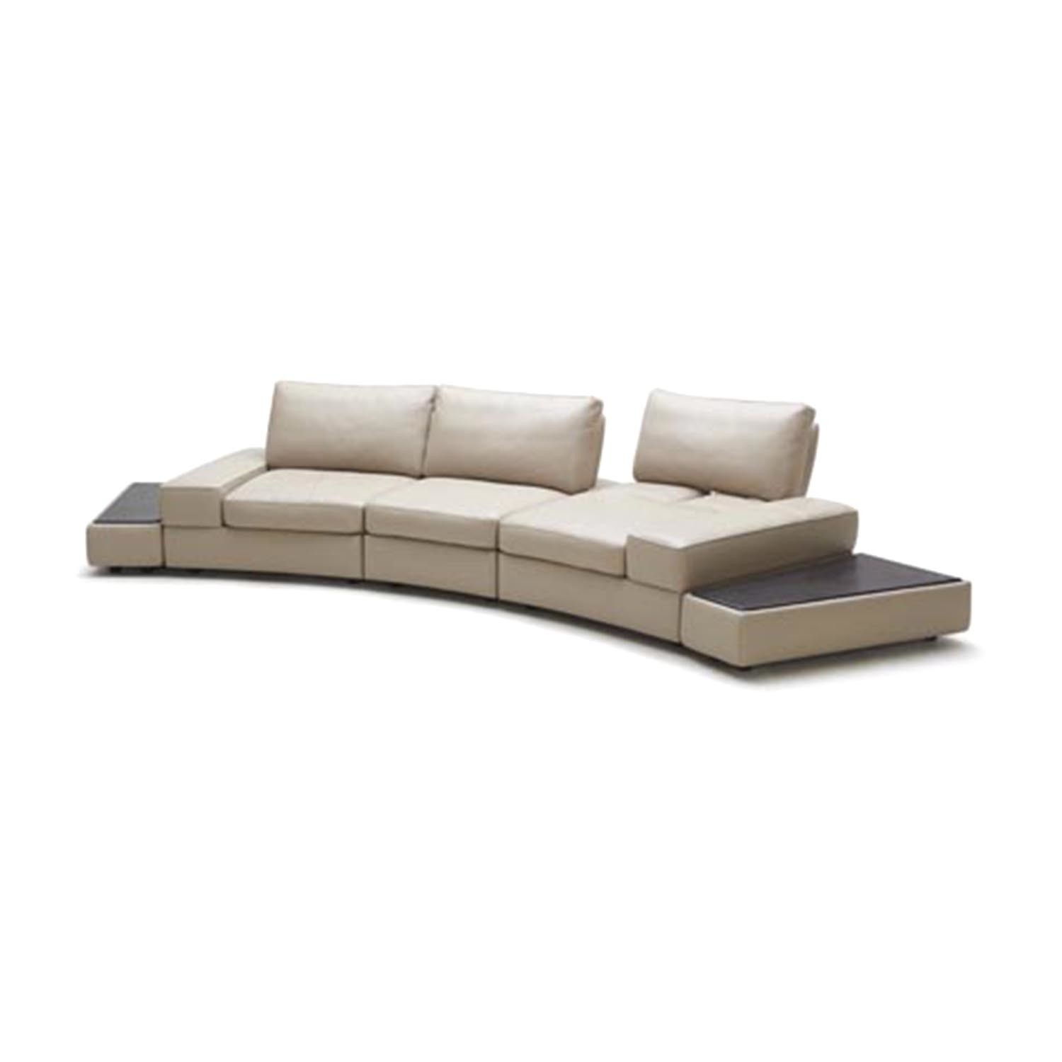Palazzo Leather Sofa Tables Zuri Furniture Touch Of Modern