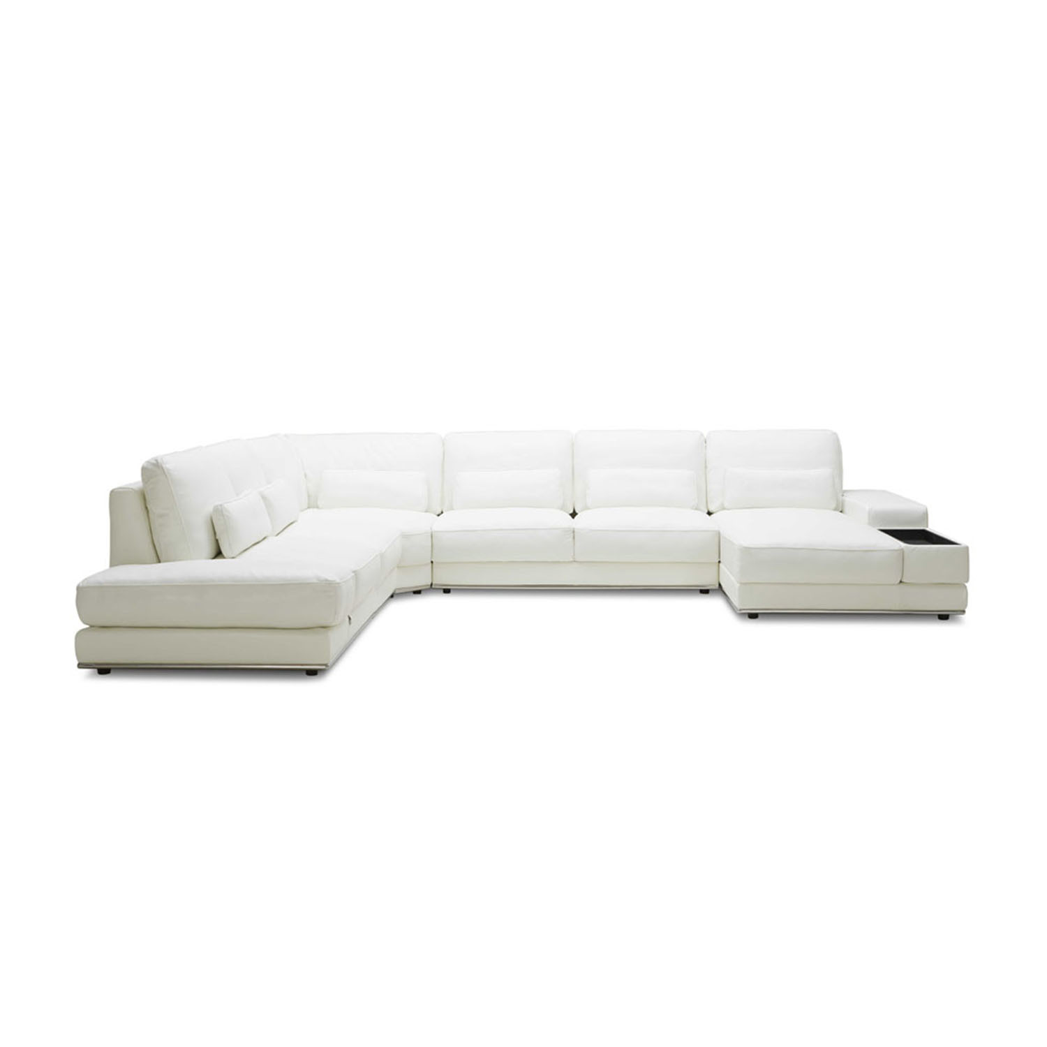 Nolan 3 Piece Sectional Sofa Right Chaise Zuri Furniture