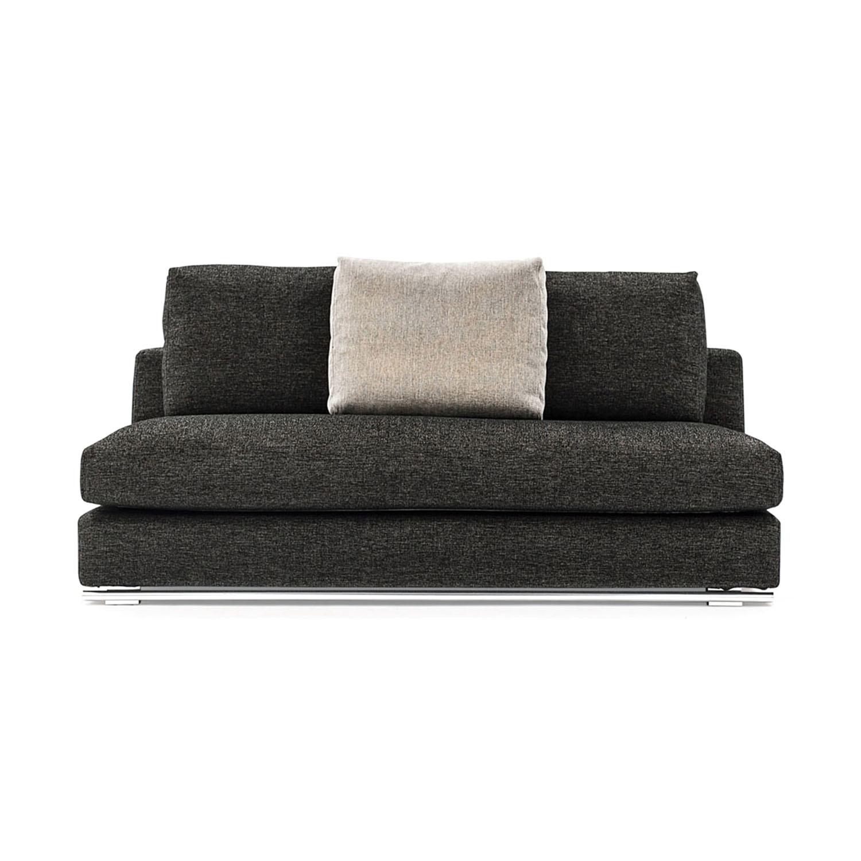 Comodo Sectional Sofa // Left Chaise + Ottoman