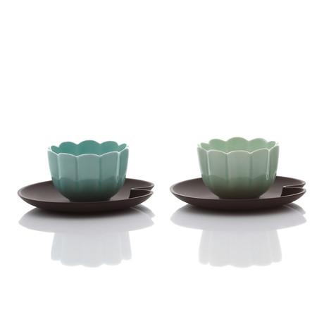 Lotus Dessert Set