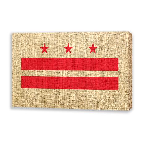 Flag of Washington DC