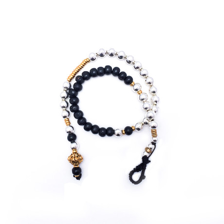 Monceau Bracelet // Silver + Gold