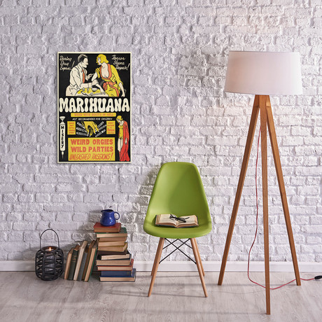 Marihuana: Weed with Roots In Hell // Vintage Poster