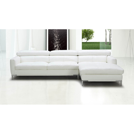 Eden Sectional Sofa // Right Chaise + Ottoman
