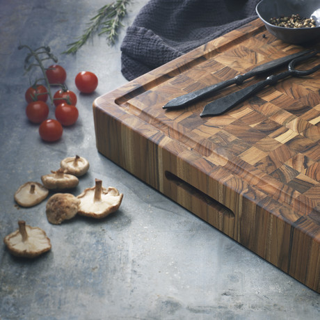 Butcher Block Collection // Rectangle End Grain Carving Board