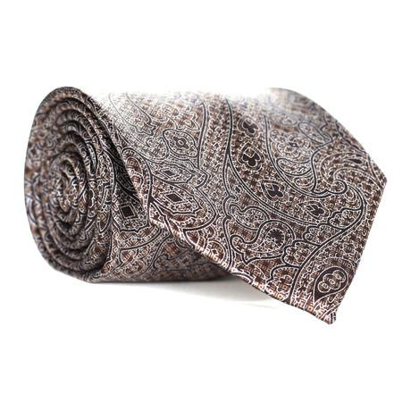 Paisley Tie // Brown