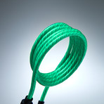 LED Glowing Cable // Green