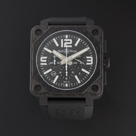 Bell & Ross Aviation Phantom Chronograph Automatic // BR0194-CA FIBER // Store Display