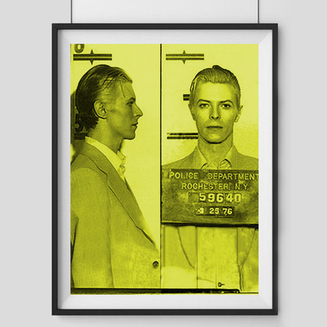 Bowie 1976 // Yellow