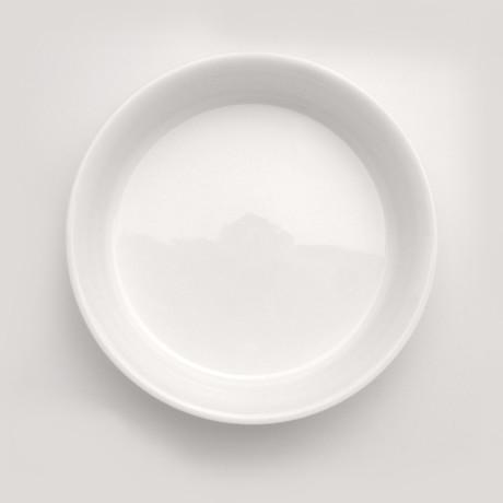Bianco Round Baking Dish