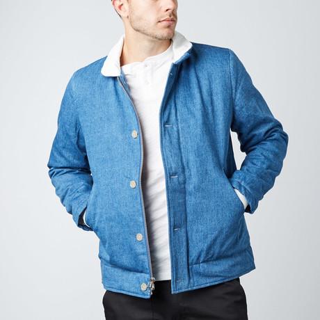 Woodside Deck Jacket // Blue