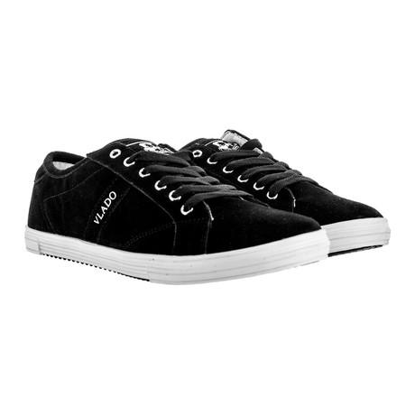 Dela Low-Top Sneaker // Black + White (US: 7)