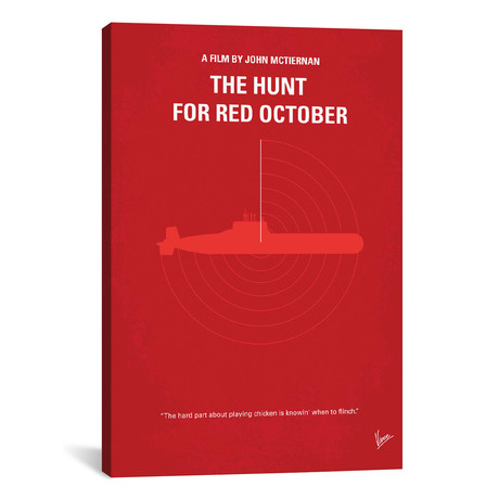 """The Hunt For Red October (18""""W x 26""""H x 0.75""""D)"""