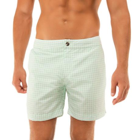 Beach To Brunch Swim Shorts // Mint