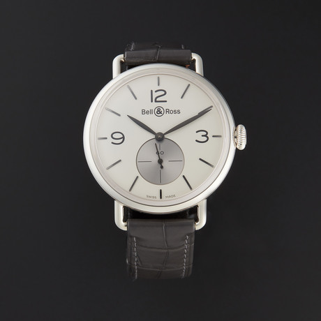 Bell & Ross Vintage WWI Automatic // BRWW1-ME-AG-OP/SCR // Store Display