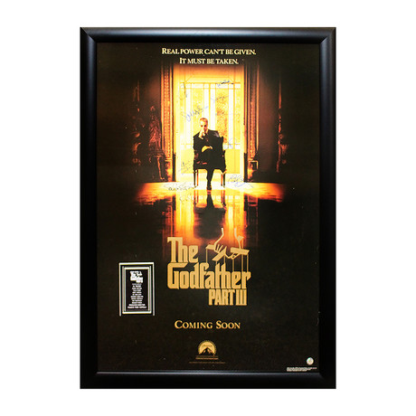 The Godfather Part III Signed Movie Poster