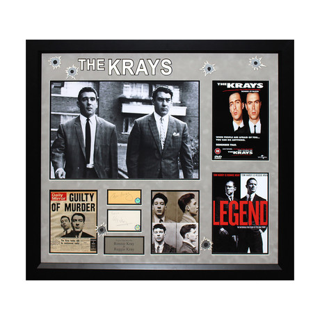 The Kray Brothers Signed Photo Collage
