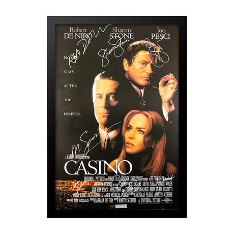 Casino Signed Movie Poster