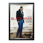 Signed Movie Poster // Black Mass // Johnny Depp