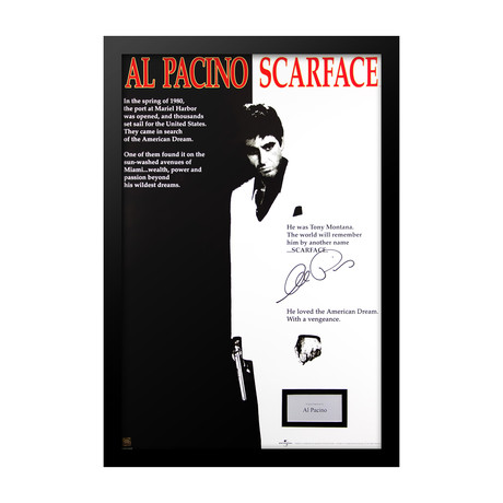 Scarface Signed Movie Poster