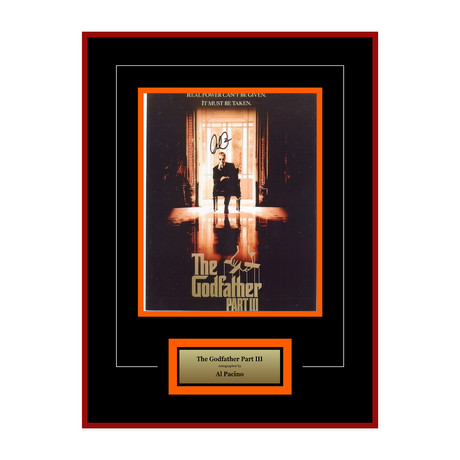 The Godfather Part III Signed Photograph