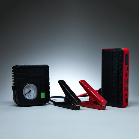 Car Jumper Powerbank // Black + Red