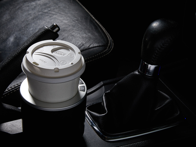 Photo of Auto Essentials Pimp Your Ride Drink Valet // Silver + Black by Touch Of Modern