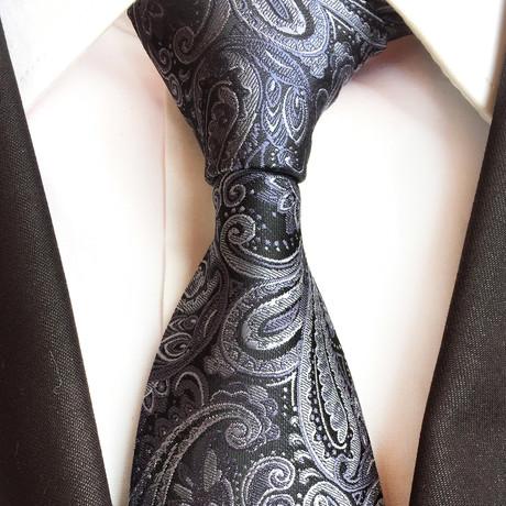 Tavion Tie // Charcoal