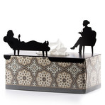 In Her Treatment // Tissue Box Cover