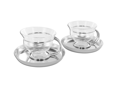 Photo of Mono The Future Of Dining Since 1959 Filio Teacups + Saucer // Set of 2 by Touch Of Modern