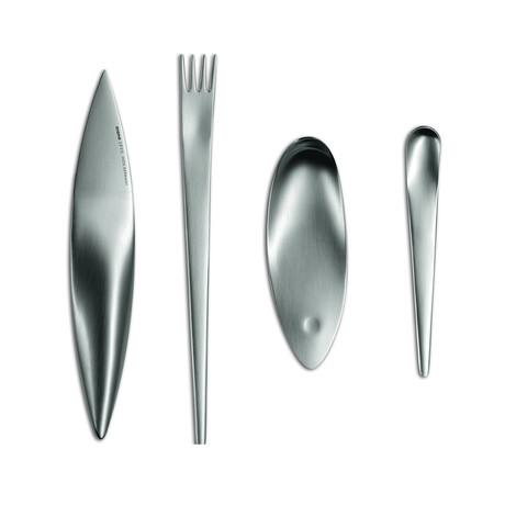 Flatware Set + Gift Box // 4 Piece Set