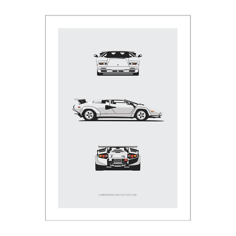 Lamborghini Countach Trilogy