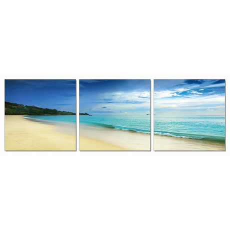 """Solitude of Sand (72""""W x 24""""H x 1""""D)"""