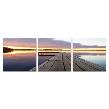 "Pier at Peace (60""W x 20""H x 1""D)"
