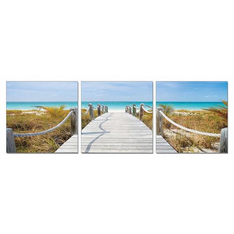 "Beach Boardwalk (60""W x 20""H x 1""D)"