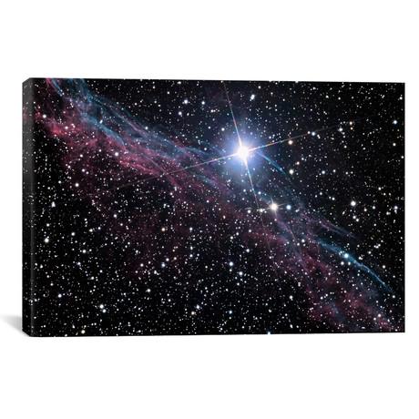 "Veil Nebula (NASA) // NASA (40""W x 26""H x 1.5""D)"
