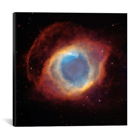 "Helix // Eye of God // Nebula // Hubble Space Telescope // NASA (18""W x 18""H x 0.75""D)"
