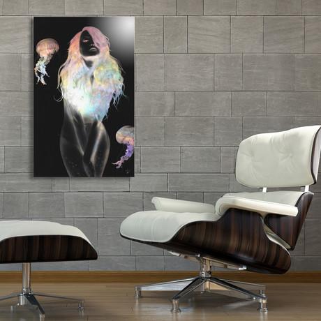 "Medusa // Aluminum Print (16""W x 24""H x 0.2""D)"