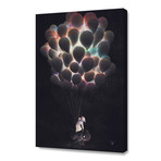 "Balloons // Stretched Canvas (16""W x 24""H x 1.5""D)"