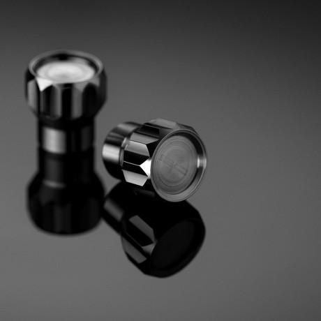 Coeus // 2 Titanium Valve Caps // Bike