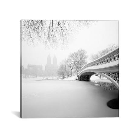 """Bow Bridge // Central Park (18""""W x 18""""H x 0.75""""D)"""